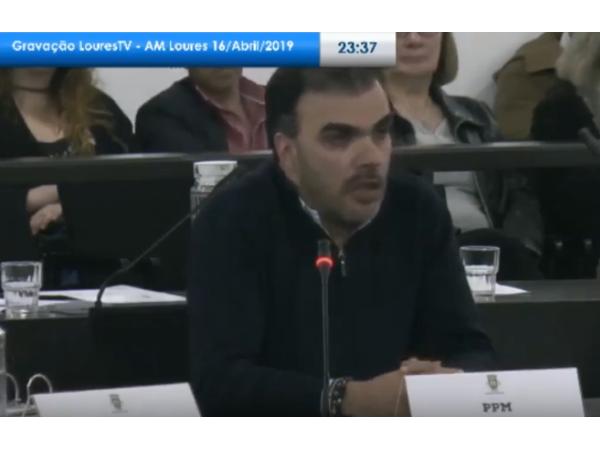 Relatório sobre Ajuste Direto com Jorge Bernardino apresentado na Assembleia Municipal de Loures