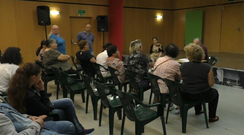 Odivelas – Reunião dos Moradores dos antigos Bairros do Governo Civil, afetados pelo Incêndio, com Almiro Morais da JF Pontinha-Famões