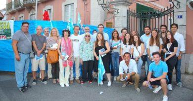 Forte presença da Campanha do CDS-PP às Legislativas 2019 no Festival das Sopas em Caneças