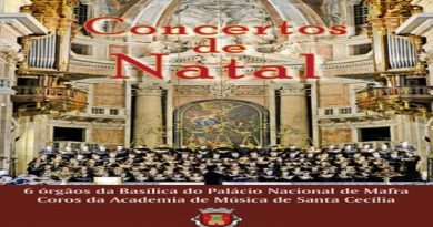 Município de Mafra celebra o Natal com música – dias 14 e 15 de dezembro, às 21 horas