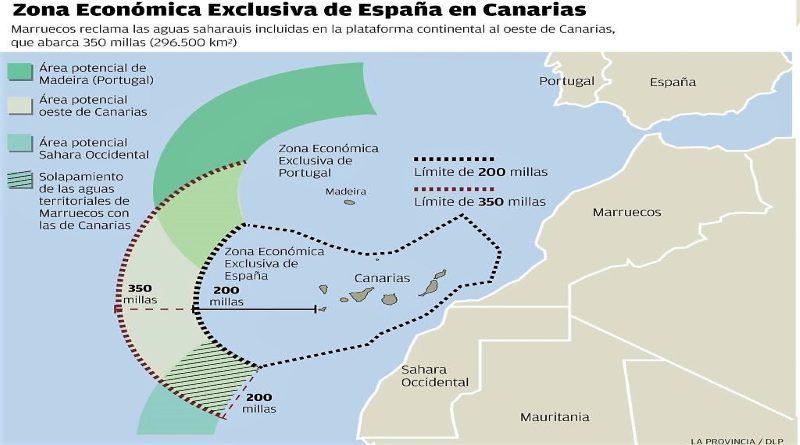 Marrocos decide anexar mar de Espanha em torno das Canárias
