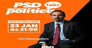 """PSD Talks"""", pelas 21:00 de dia 23 de janeiro na Sede do PSD Loures"""