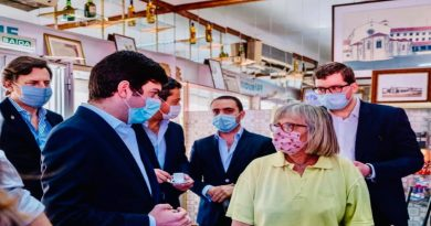 Presidente do CDS-PP, Francisco Rodrigues dos Santos, esteve em visita a Odivelas após a 2ª fase de desconfinamento da Pandemia COVID-19